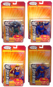 DC Superheroes - Series 2 Set of 4