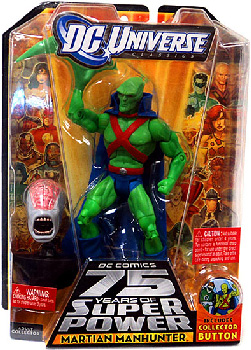 DC Universe - Martian Manhunter [Variant Head]