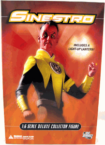 13-Inch Deluxe Collector - Sinestro