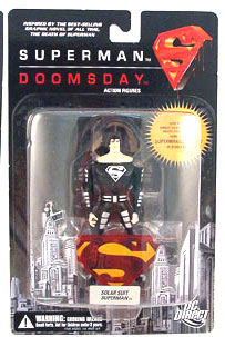 Superman Vs Doomsday: Solar Suit Superman