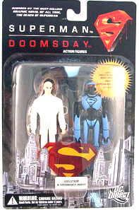 Superman Vs Doomsday: Lex Luthor and Robot