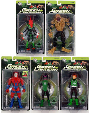 Green Lantern Series 2 - Set of 5