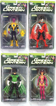 Green Lantern Series 3 Set of 4
