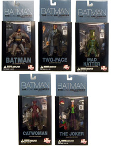 Long Halloween series 1 Set of 5