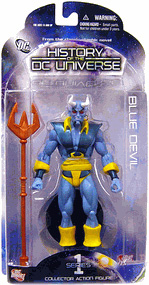 History of The DC Universe - Blue Devil