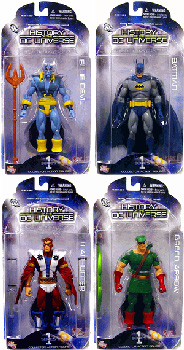 History of The DC Universe - Series 1 Set of 4