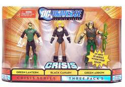 DC Universe Crisis - Hal Jordon, Black Canary, Green Arrow