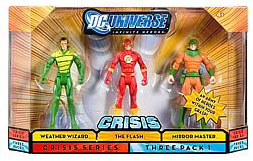 DC Universe Crisis - Weather Wizard, Flash, Mirror Master