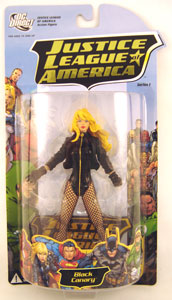 JLA Series 1 - Black Canary