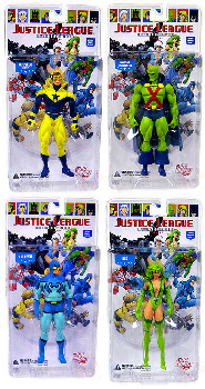 JUSTICE LEAGUE INTERNATIONAL: Series 2 Set of 4