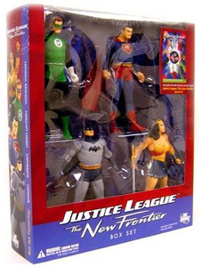 JUSTICE LEAGUE NEW FRONTIER BOX SET
