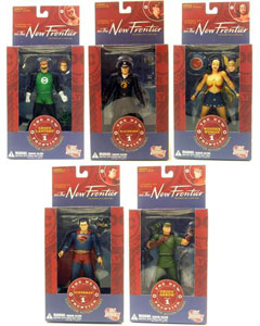 JLA: The New Frontier - Set of 5