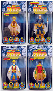 New Teen Titans - Series 2 Set of 4