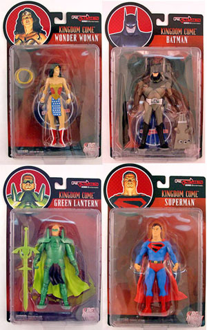 DC DIRECT REACTIVATED Series 2 Set of 4