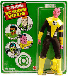 DC Super Heroes Retro-Action - Sinestro Corp Yellow Sinestro
