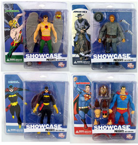 DC Showcase - Series 1 Set of 4