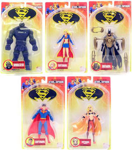 Superman & Batman Return of Supergirl Set of 5