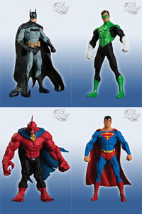 Superman and Batman Series 6 - Set of 4