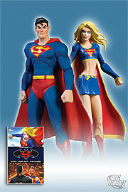 DC Superman Batman - Supergirl ACTION FIGURE COLLECTOR SET