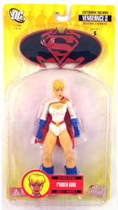 Superman and Batman - Power Girl