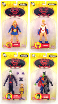 Superman and Batman - Series 5 Set of 4