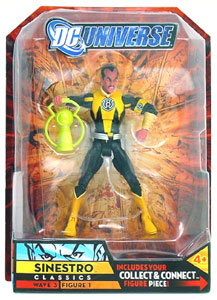 DC Universe - Sinestro Yellow Suit Variant