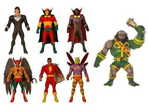 DC Universe - Series 6 Set of 6[Build Kalibak]