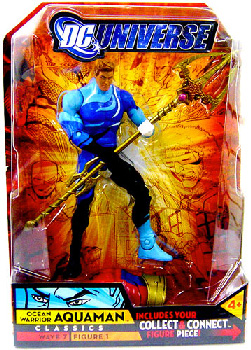 DC Universe - Ocean Warrior Aquaman Blue Suit