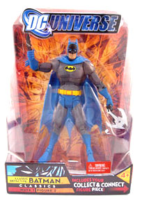 DC Universe - Batman(Blue and Grey)[With BAF Rex Mason Part]