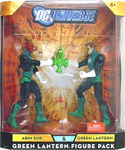 DC Universe - Abin Sur and Green Lantern