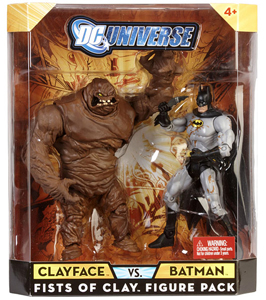 DC Universe - Fists Of Clay - Clayface VS Batman