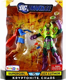 DC Universe - Kryptonite Chaos Supergirl VS Lex Luthor