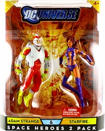 DC Universe - Space Heroes - Adam Strange and Starfire