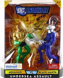 DC Universe - Undersea Assault - Aquaman VS Black Manta