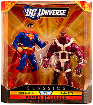 DC Universe - Power Struggle - Superman vs Parasite