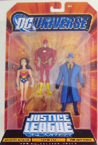 DC Universe - JLU: Wonder Woman, The Flash, The Question