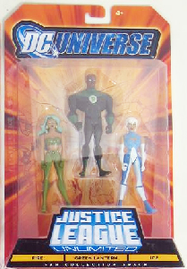 DC Universe - Justice League Unlimited: Fire, Green Lantern, Ice