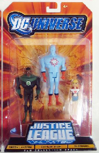 DC Universe - Justice League Unlimited: Green Lantern, Captain Atom, Supergirl