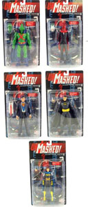Secret Files Series 2 - Unmasked Set of 5