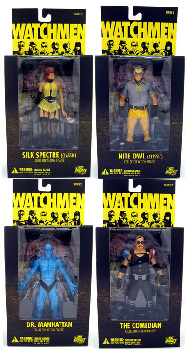 Watchmen Movie - Series 2 Set of 4
