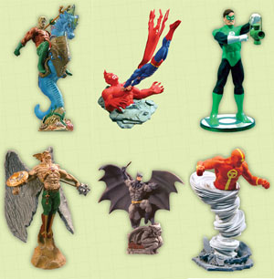 DC Direct Who Who Series 2 Set of 6 - LOOSE