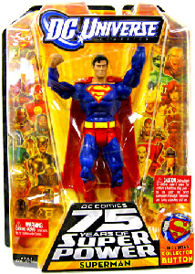 DC Universe World Greatest Super Heroes - Superman with Collector Pin