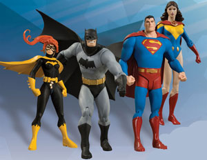 DC All Star - Series 1 Set of 4