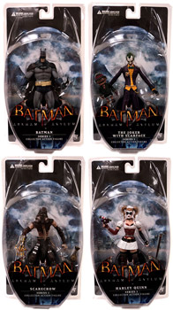 Batman Arkham Asylum - Series 1 Set of 4