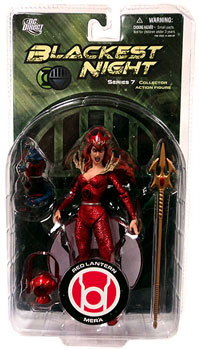 Blackest Night - Red Lantern Mera