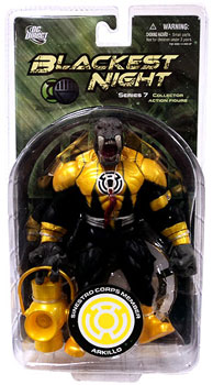 Blackest Night - Sinestro Corps Member Arkillo
