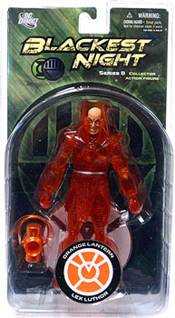 Blackest Night - Orange Lantern Lex Luthor