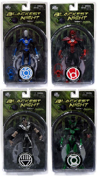Blackest Night - Series 1 Set of 4