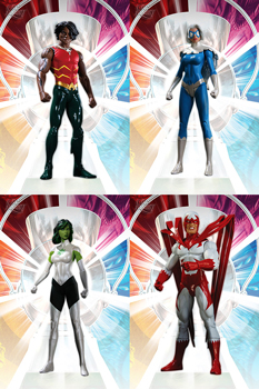 Brightest Day Series 3 Set of 4