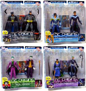 DC Origins - 2-Pack Series 1 Set of 4